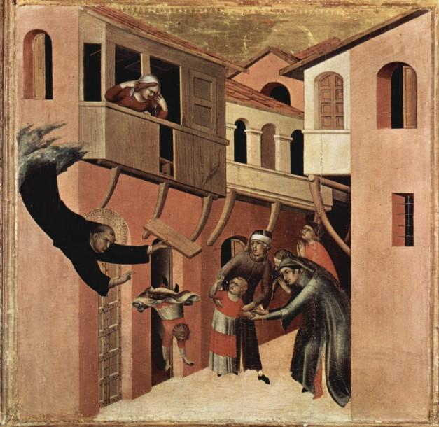 San Agustín el Noble. Simone Martini (c. 1284 – c. 1344)