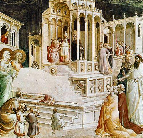 La Presentación de la Virgen, Taddeo Gaddi 1332-3